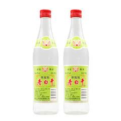 62°衡水衡记老白干绿标传统版500ml(2瓶装)