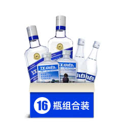 江小白明星版40度500ml*4瓶+150ml*6+se100*6 瓶箱装