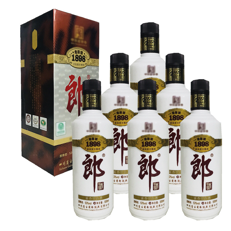 老酒 53°郎酒1898 (500ml)6瓶装 2011年
