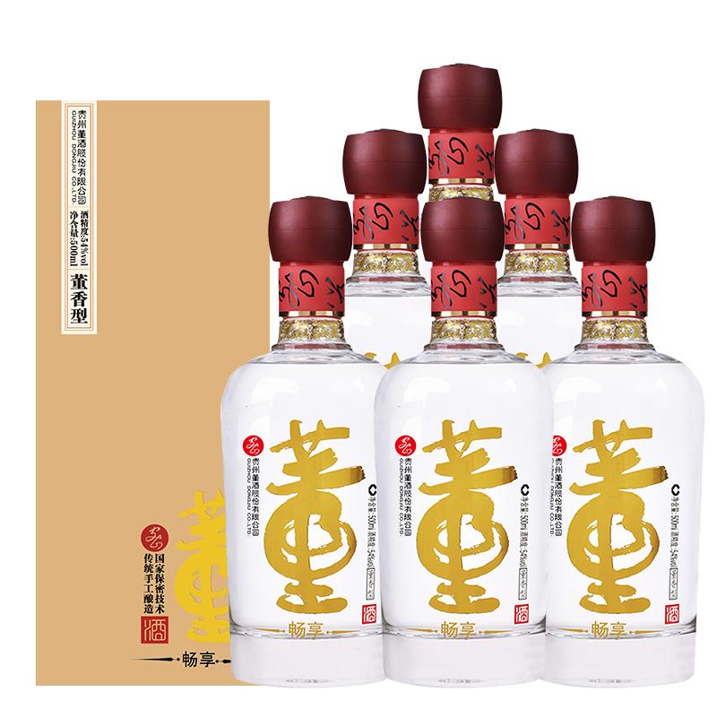 54°董酒(畅享版)500ml(6瓶装)