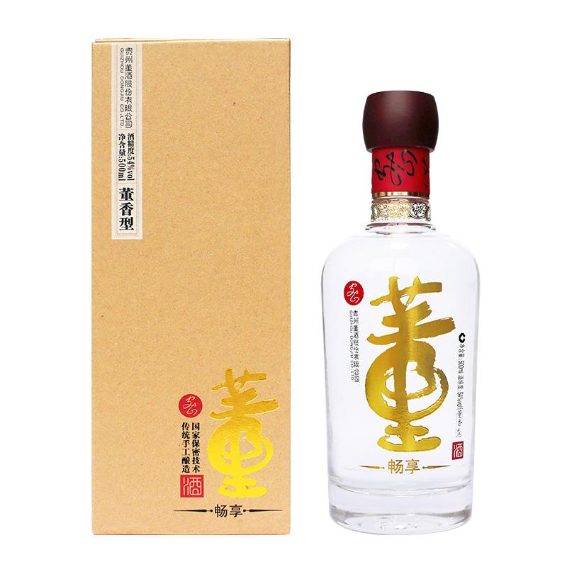 54°董酒畅享版 500ml(单瓶装)