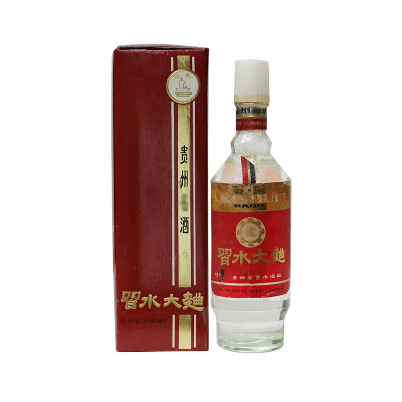 【老酒特卖】55°习水大曲 500ml(80年代末期)收藏老酒