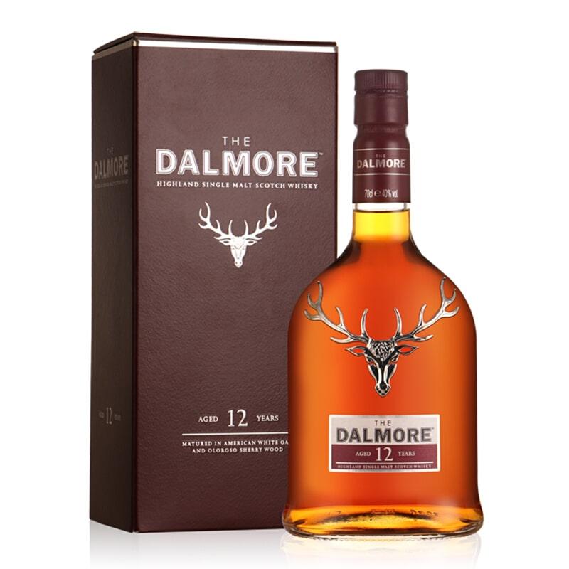 40°达尔摩帝摩12年苏格兰单一麦芽威士忌700ml