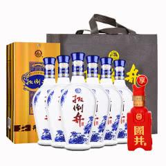 【酒厂直营】52°扳倒井井韵整箱白酒750ml(6瓶装)