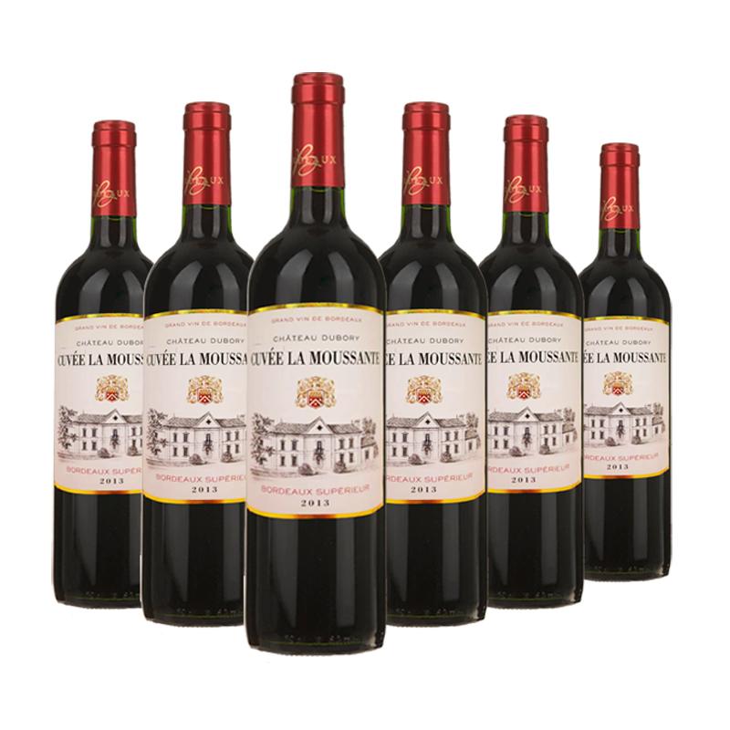法国波尔多AOC茉桑庄园干红葡萄酒 2013 750ml(6瓶装)