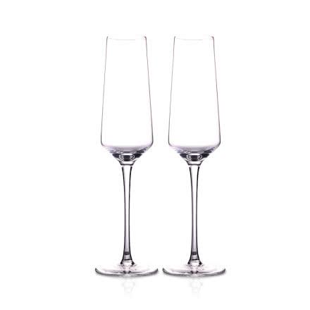 清雅香槟酒杯双支
