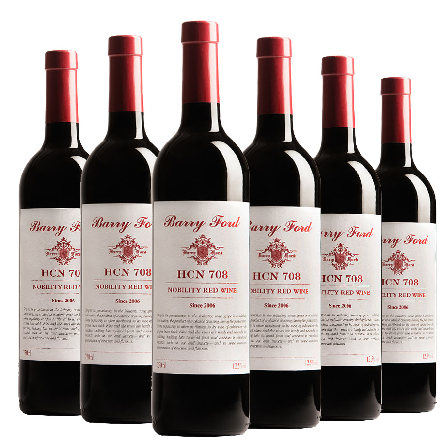 澳洲红酒奔富HCN708贵族西拉佳酿干红葡萄酒750ml*6支整箱装(京东配送)