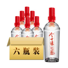 42°今世缘红珍酿白酒480ml(6瓶装)