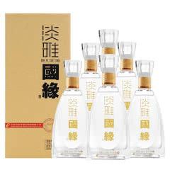 42°今世缘淡雅国缘商务版淡雅500ml(6瓶装)