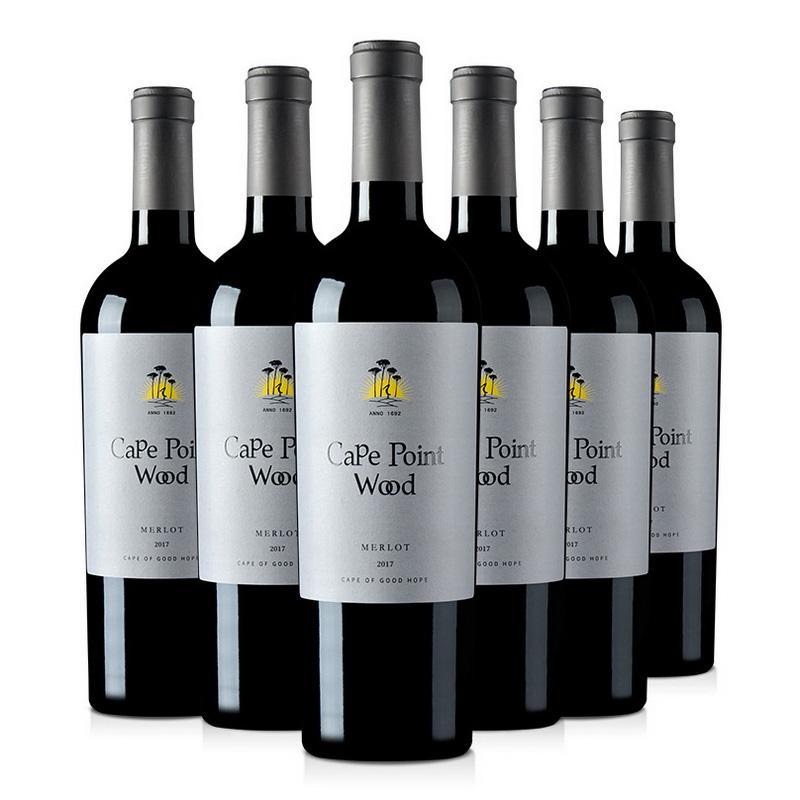 南非(原瓶进口)好望树梅洛干红葡萄酒750ml(整箱六瓶装)