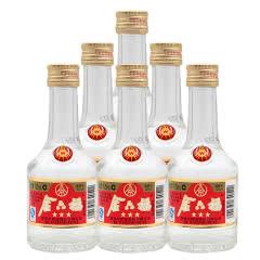 52度五粮液·金六福三星125ml×6瓶 (2009年)