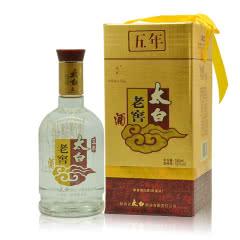 52°陕西太白酒五年老窖兼香型白酒500ml单瓶(2009年)