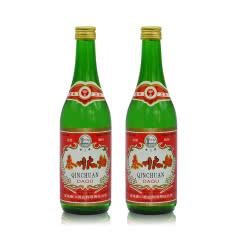 【老酒特卖】2000年53°秦川大曲酒凤兼浓香型 500ml*2瓶