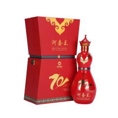 47.5度河套王大庆版2017年700ml浓香型白酒