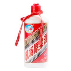 青岛特产流亭机场白酒飞机场原浆酒纯粮固态酿造52度清香型白茅台瓶白酒500ml