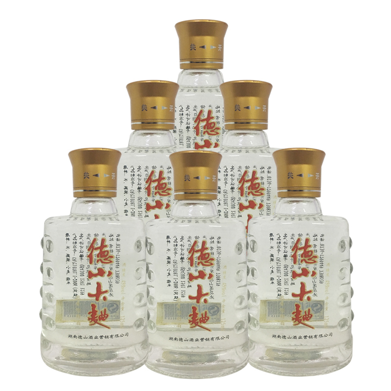 融汇陈年老酒 45°德山大曲 125ml(6瓶装)2012年