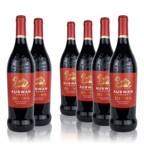 13.5°天鹅庄88号窖藏西拉干红葡萄酒750ml*6瓶