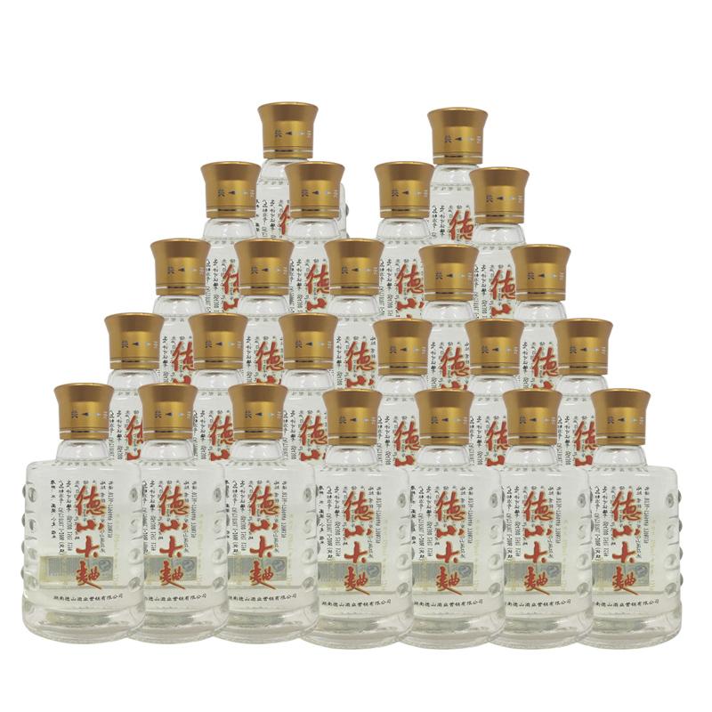 融汇陈年老酒 45°德山大曲 125ml(24瓶装)2012年