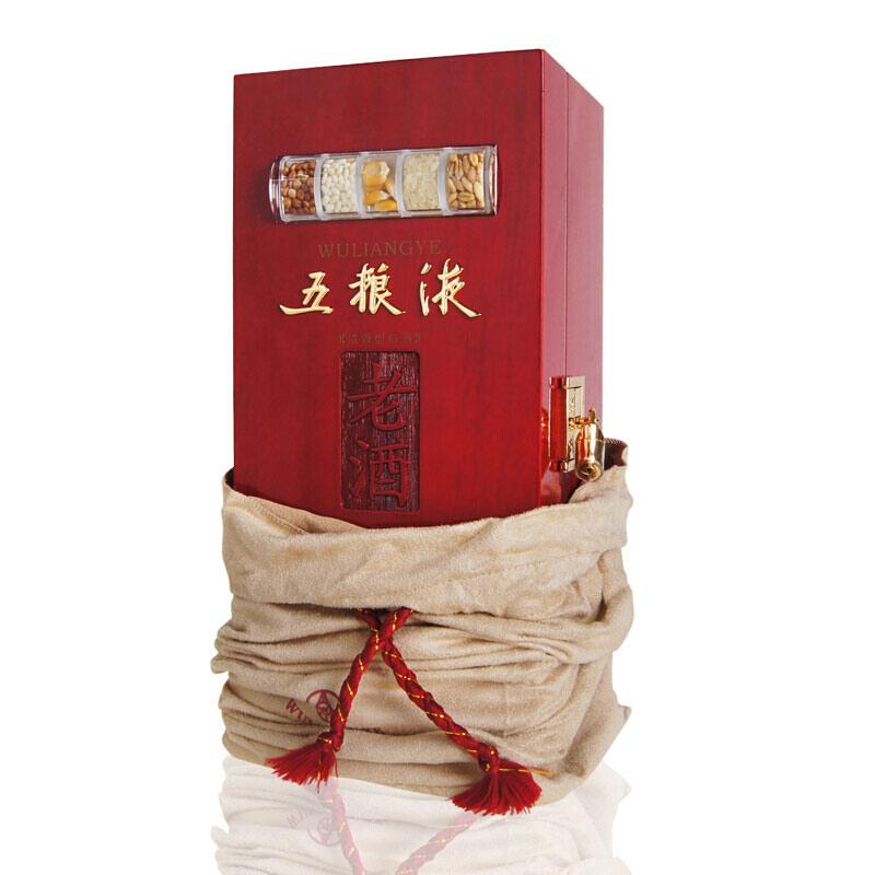 56°五粮液收藏老酒木制礼盒装500ml(2009年出厂)