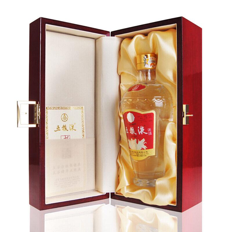 56°五粮液收藏老酒木制礼盒装500ml(2011年出厂)