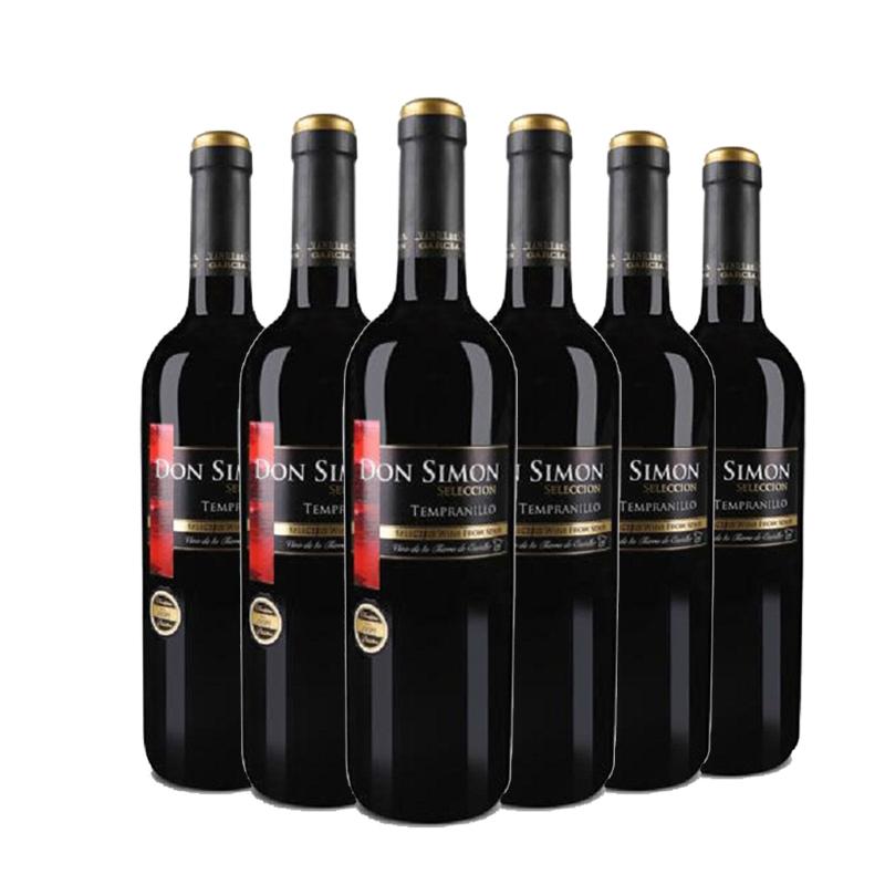 西班牙原瓶进口红酒 唐门干红葡萄酒 整箱特惠 750ml(6瓶装)