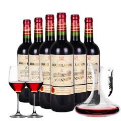 路易拉菲(LOUIS LAFON)干红葡萄酒12%vol法国原瓶进口红酒整箱750ml*6