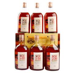 绍兴黄酒古越龙山 清醇三年半甜型花雕糯米老酒500mlx6瓶整箱送礼加饭米酒自饮泡阿胶包邮
