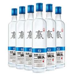 【酒厂直营】43度 华都北京二锅头  (一起赢)清香型白酒500ml*6
