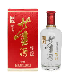 董酒红色经典46度500ml董香型贵州白酒纯粮固态酿造单瓶