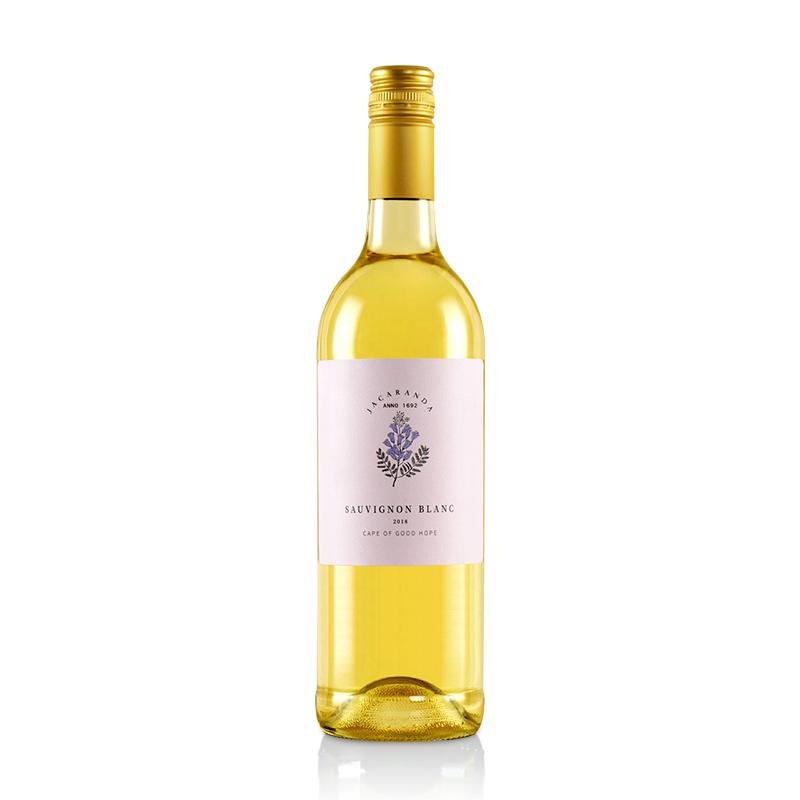 南非(原瓶进口)蓝楹花长相思干白葡萄酒750ml