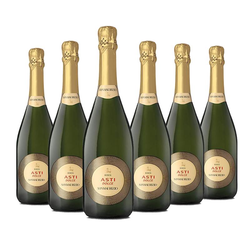 圣马利佐阿斯提白起泡葡萄酒 750ml(6瓶装)