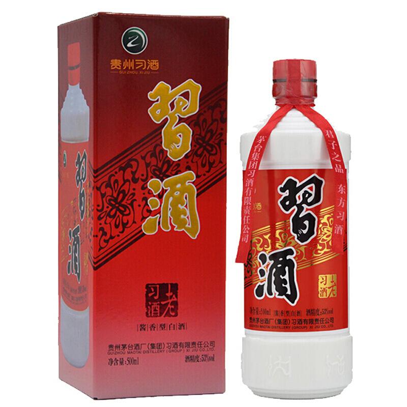 53° 习酒老习酒500ml酱香型白酒
