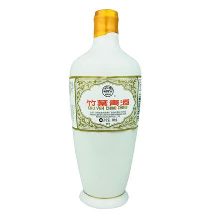 融汇老酒 45º瓷瓶竹叶青酒500ml(2008年)