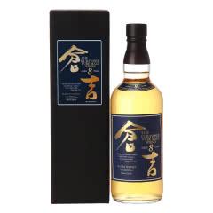 仓吉 (KURAYOSHI )洋酒 日本 8年纯麦威士忌 700ml