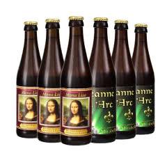 法国凯尔特人精酿啤酒蒙娜丽萨、圣女贞德混装330ml(6瓶)