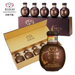 53°贵州茅台集团白金酒公司白金干酱GJ30酒100ml*5*2双条礼盒装