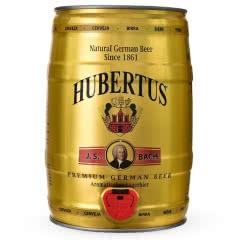 狩猎神(HUBERTUS)德国原装进口拉格啤酒桶装5L