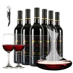 澳大利亚洲原瓶进口乔睿庄园M8西拉子干红葡萄酒750ml*6