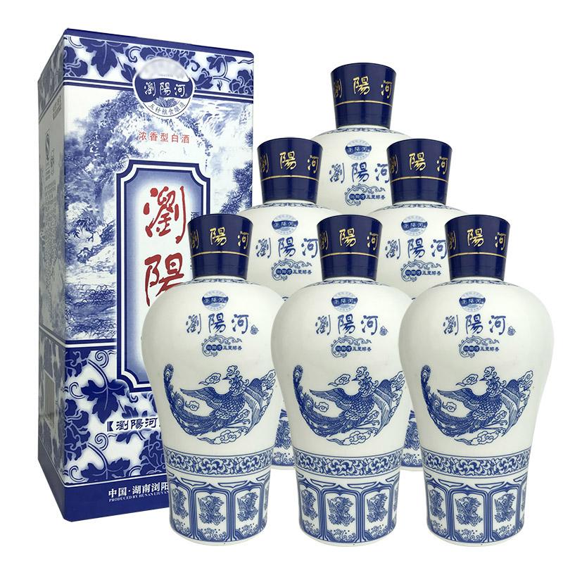 融汇陈年老酒 52°浏阳河五里醇香475ml(6瓶装)2013年