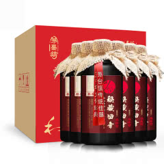 【酒仙甄选】53°少卿秘藏四年 酱香型白酒 贵州茅台镇纯粮酒 白酒整箱500ml*6瓶
