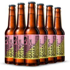 英国进口精酿 酿酒狗Brewdog 西柚和橘子酸艾尔啤酒 330ml*6瓶