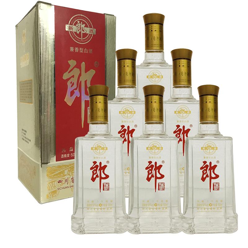 融汇陈年老酒 50°郎酒 500ml(6瓶装)2007年