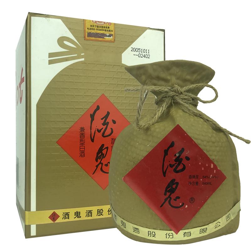 融汇陈年老酒 54°酒鬼酒 540ml(2005年)