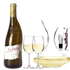 法国原瓶进口红酒教皇新堡芙华隆河干白AOC级干白葡萄酒单支装750ml