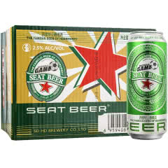 西雅特公爵啤酒500mL(24听装)