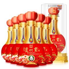 52°泸州老窖泸州贡酒8V  婚宴喜酒 500ml (6瓶装)