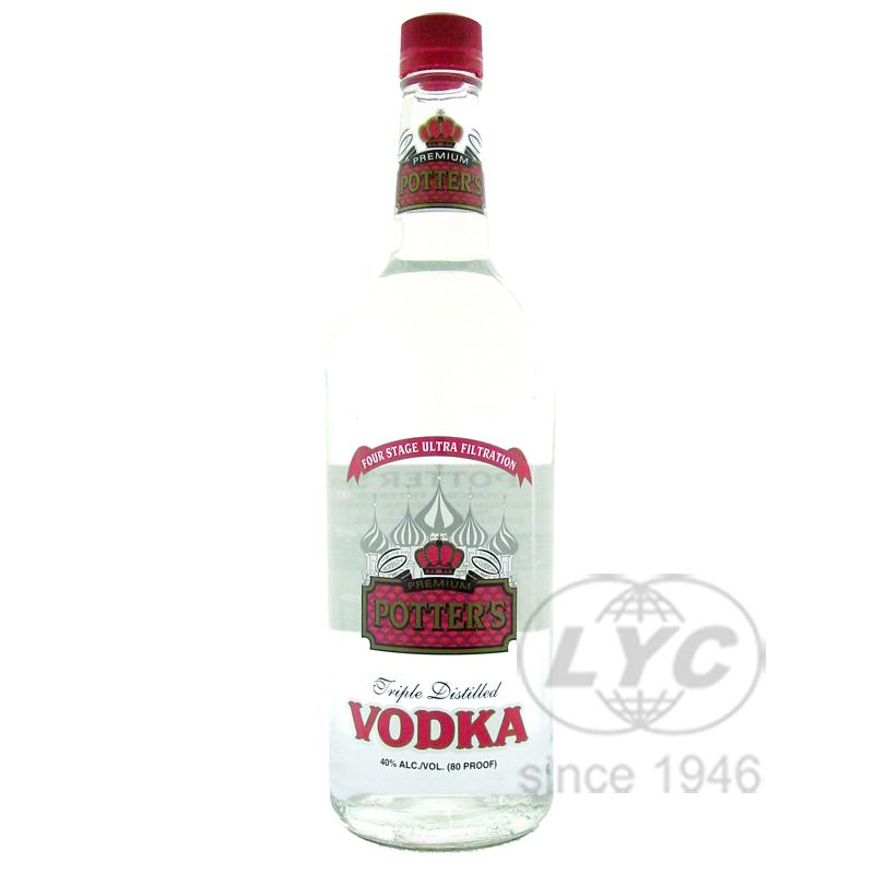 波特伏特加 Potter's Vodka
