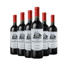 法国龙船诺波特西拉干红葡萄酒750ml*6