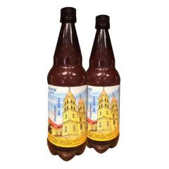 青岛崂滨澎湃海精酿啤酒1000ml*2瓶装全麦金啤酒CraftBeer7天鲜活