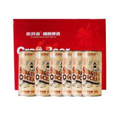 青岛崂滨澎湃海精酿啤酒 1000ml*6瓶桶装礼盒全麦金啤酒CraftBeer